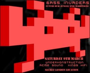Ras Lion @ Bass Invaders // London