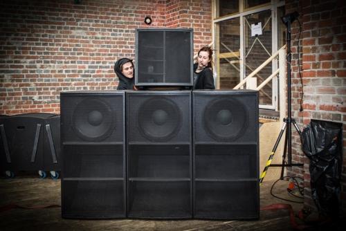 Lion's Den Sound System box warriors - Deci Mel & Tsun Dv @ Berlin Dub Wires #1 2019
