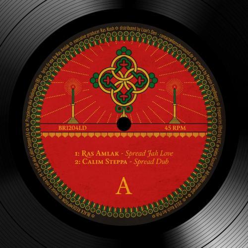 BR1204LD - Calim Steppa feat. Ras Amlak – Spread Jah Love