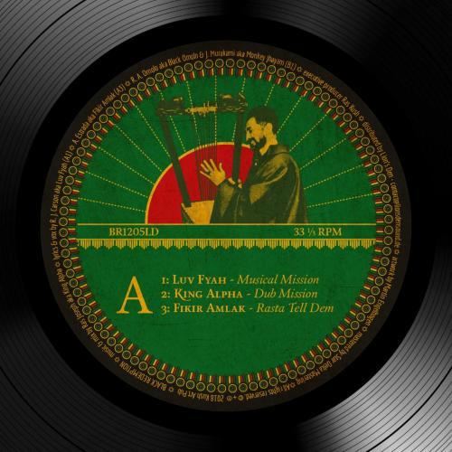 BR1205LD - King Alpha feat. Luv Fyah / Fikir Amlak – Food Riddim