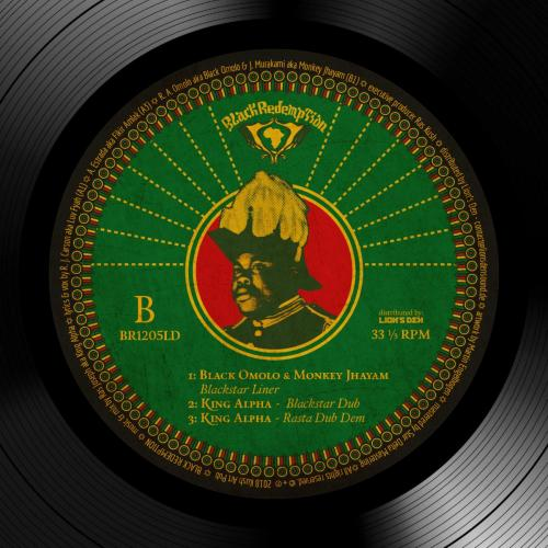 BR1205LD - King Alpha feat. Black Omolo & Monkey Jhayam – Food Riddim