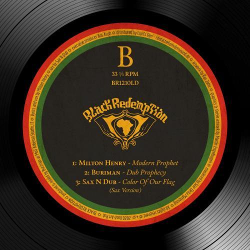 BR1210LD - Buriman ft. Milton Henry - Modern Prophet