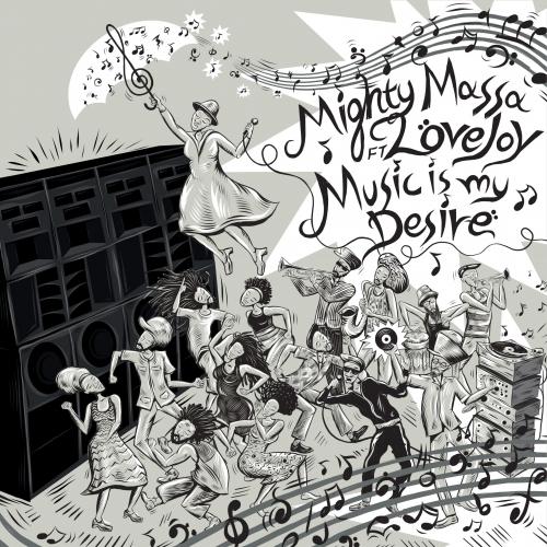 LIONSBR002 - Mighty Massa / RDH Hi-Fi ft. Love Joy - Music Is My Desire